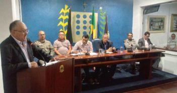 Câmara realiza Sessão Especial para debater a Segurança Pública em Taperoá